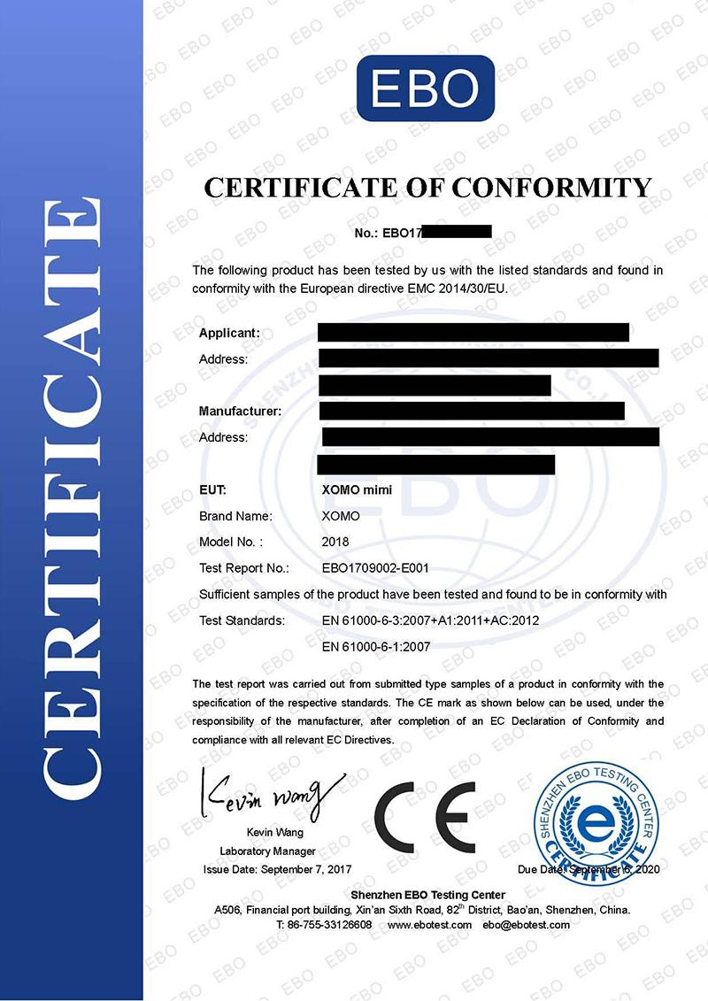 CE认证证书是什么/CE证书样本插图