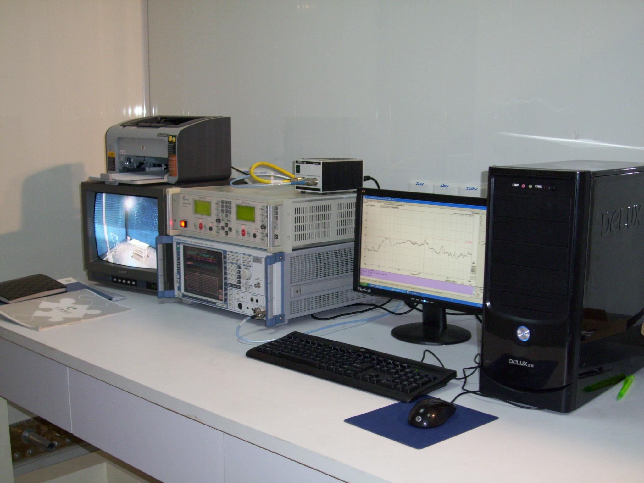 辐射发射测试